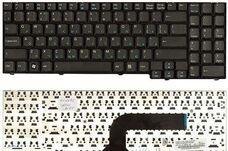 Клавиатура для ноутбука Asus M70, M50, X71, RU, черная