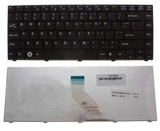 Клавиатура для ноутбука Fujitsu LH530, LH531, LH520, ENG, черная