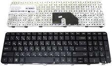Клавиатура для ноутбука HP DV6-6000, RU, рамка, черная