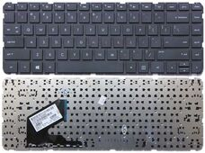 HP 14-B000, ENG, черная клавиатура для ноутбука