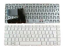 HP 14-N, ENG, белая клавиатура для ноутбука