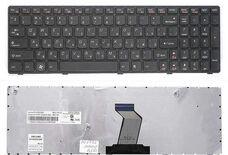 Lenovo B570, G570, V570, B590, RU, черная клавиатура для ноутбука