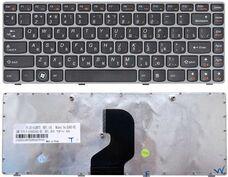 Lenovo Z450, Z460, RU, черная клавиатура для ноутбука за 10 560 тнг.