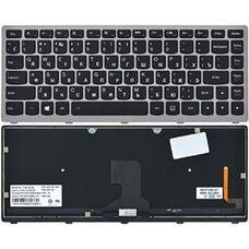 Lenovo Z400, RU, подсветка, черная клавиатура для ноутбука