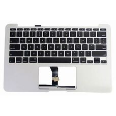 """Корпус для ноутбука Apple Macbook Air 13.3"""" A1369, С часть, плоский Enter, рамка клавиатуры"""