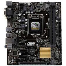 Asus H110M-R/C/SI Soc-1151 iH110 DDR4 mATX материнская плата