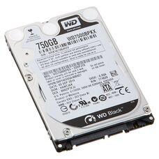 """HDD 2.5"""" 750 Gb SATA WD WD7500BPKX Black 7200 rpm 16Mb жесткий диск для ноутбука"""