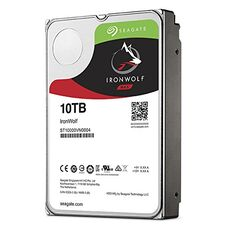 "HDD 3.5"" 10000 Gb SATA Seagate IronWolf ST10000VN0004 7200 rpm 256Mb жесткий диск для компьютера за 168 520 тнг."