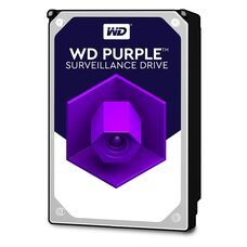 "HDD 3.5"" 1000 Gb SATA Western Digital Purple WD10PURZ 5400 rpm 64Mb жесткий диск для видеонаблюдения"