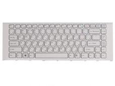 Клавиатура для ноутбука Sony VPC-EA, VPCEA1S1R, VPCEA2M1R, рамка, белая за 7 140 тнг.
