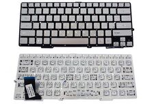 Клавиатура для ноутбука Sony SVS13, RU, серебро купить по низкой цене за 8 000   тнг.