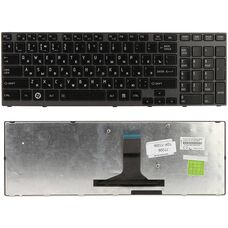Клавиатура для ноутбука Toshiba Satellite A660, A665, RU, черная купить по низкой цене за 6 450 тнг.