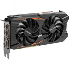Видеокарта Gigabyte 4GB GTX 1050Ti GDDR5 128-bit Windforce OC