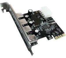 PCI-E карта расширения портов USB 3.0 (4 порта) купить по низкой цене за 4 400   тнг.