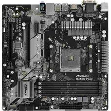 ASRock B450M PRO4 Socket-AM4 AMD B450 DDR4 mATX материнская плата купить по низкой цене за 34 800   тнг.