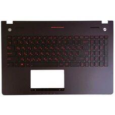 Корпус для ноутбука Asus N56, часть С, Ru, черная с подсветкой купить по низкой цене за 12 298 тнг.