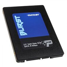 """240GB SSD PATRIOT Burst 2.5"""", SATA III, твердотельный диск купить по низкой цене за 14 520 тнг."""