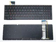 Asus ROG G552, GL552, GL742, Ru, черная клавиатура для ноутбука за 13 200 тнг.