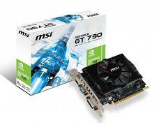 MSI 2GB GT 730 DDR3 128-bit N730-2GD3V2 видеокарта за 32 120 тнг.