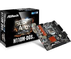 ASRock H110M-DGS R3.0 Soc-1151 iH110 DDR4 mATX материнская плата за 19 800 тнг.