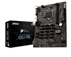 MSI H310-F PRO Soc-1151 iH310 DDR4 ATX материнская плата купить по низкой цене за 23 320 тнг.