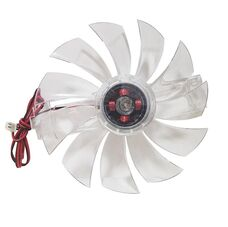 Вентилятор для видеокарты 6.5х6.5 D7 2pin 12V за 880 тнг.