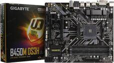 GIGABYTE B450M DS3H Socket-AM4 AMD B450 DDR4 mATX материнская плата за 32 560 тнг.