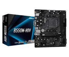 ASROCK B550M-HDV AM4 B550 DDR4 mATX материнская плата купить по низкой цене за 39 150 тнг.