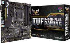 ASUS TUF B450M-PLUS GAMING Socket-AM4 AMD B450 DDR4 mATX материнская плата за 46 200 тнг.