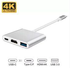 Конвертер Type-C на HDMI+USB 3.0+Type C за 4 400 тнг.