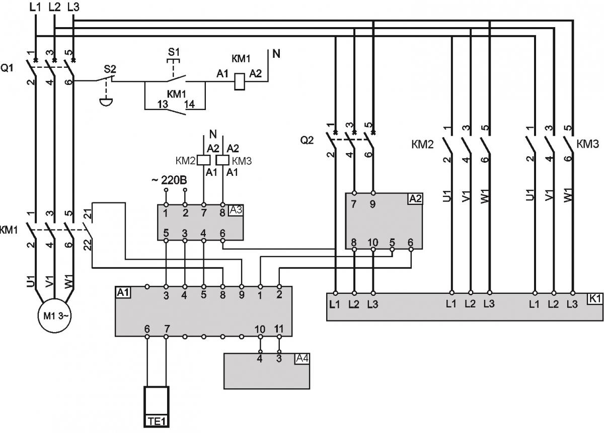 Схема подключения TT-S2