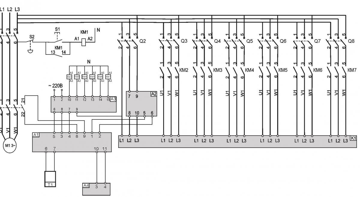 Типовая схема подключения TT-S6